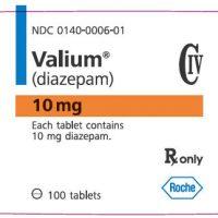 valium label